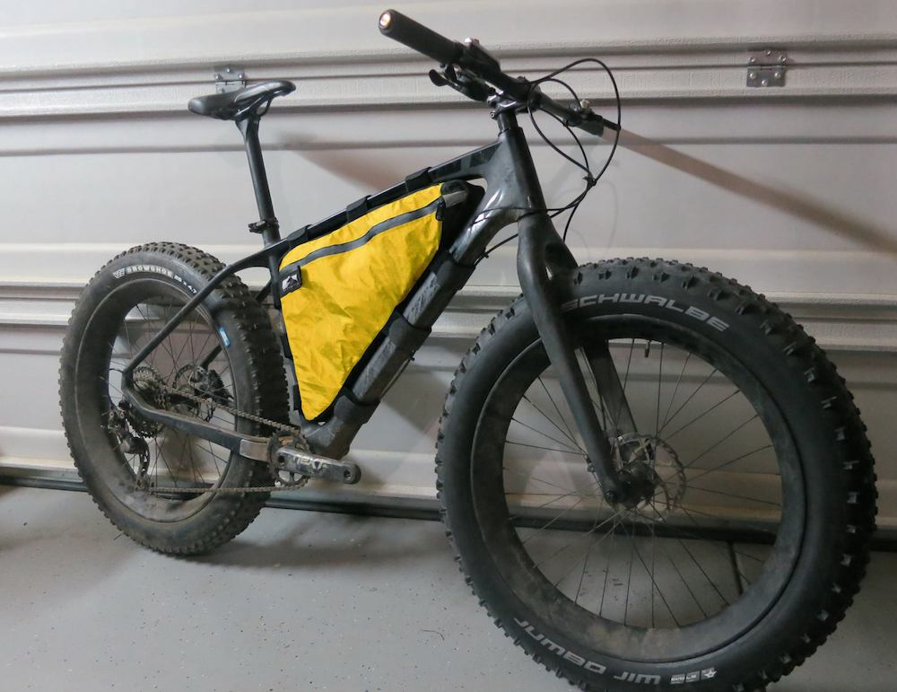 switchback frame bag