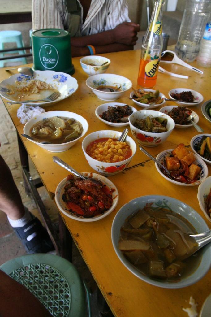 Myanmar condiments food