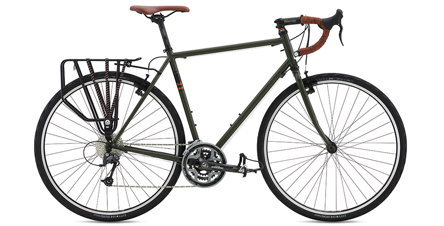 2016 Fuji Touring Bike on touring