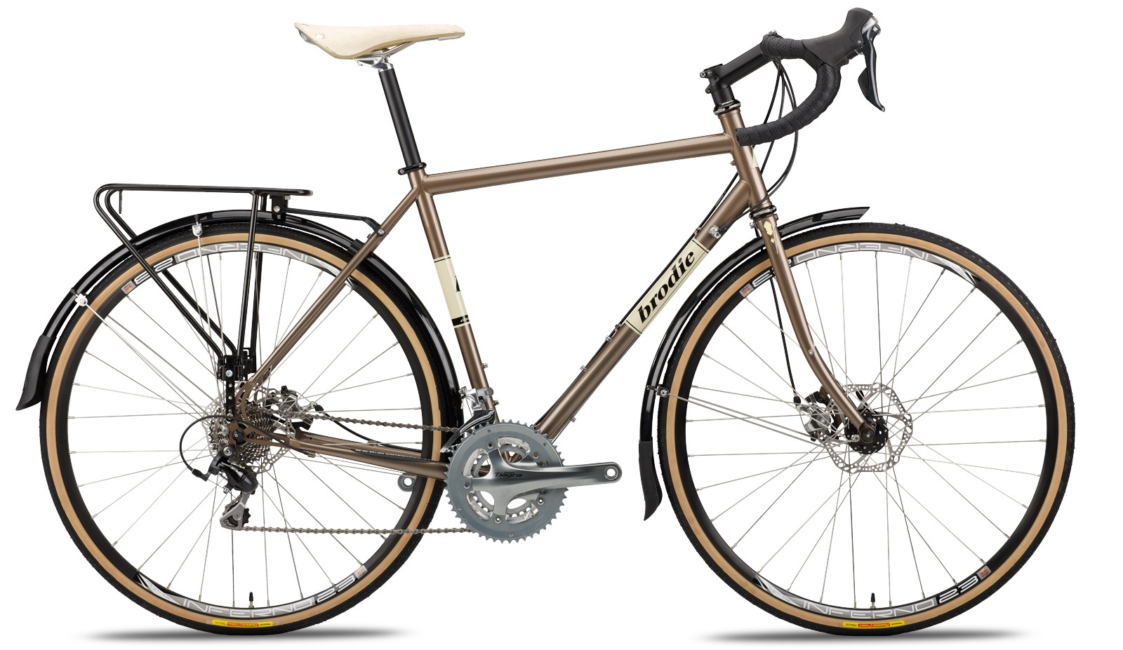 The New 2016 Brodie Elan Vital Touring Bike Cyclingabout