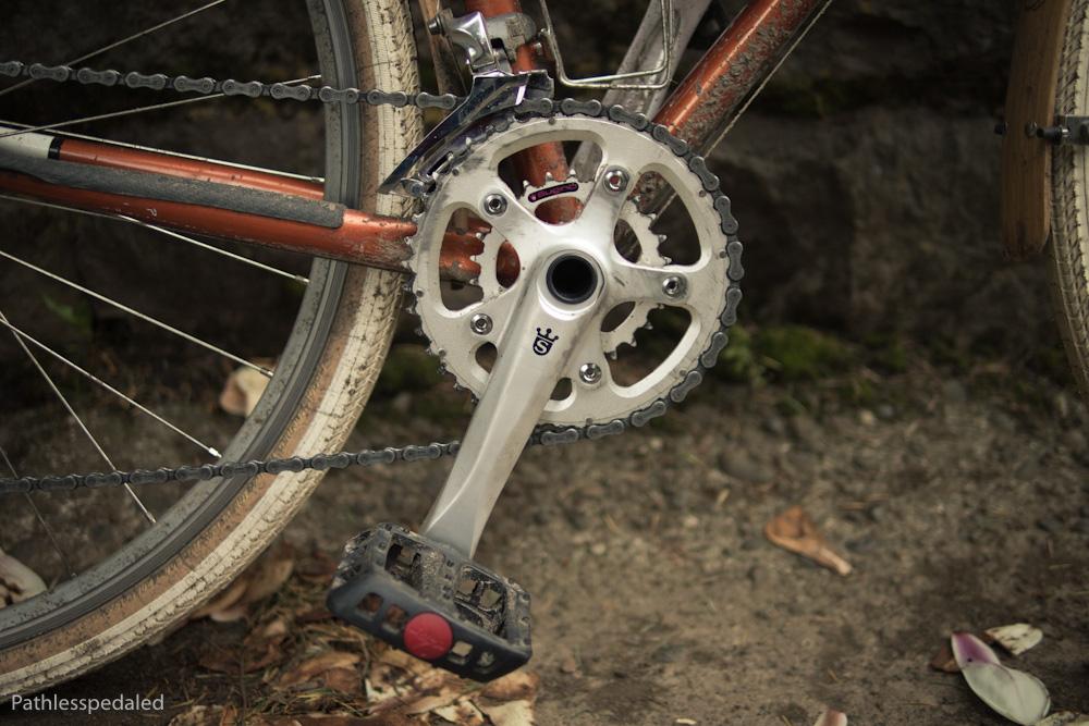 Sugino OX601D Compact Plus Crankset - EpicureanCyclist.com