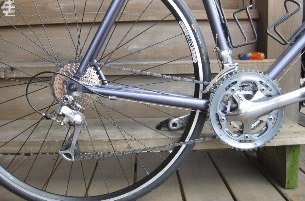 Using a 26t Chainring on a Sora Crankset