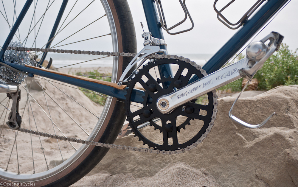 White Industries VBC Cranks can use a 24t inner chainring - OceanAirCycles.com