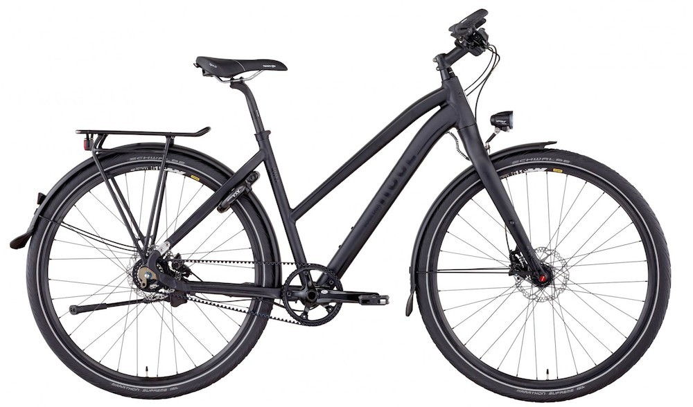 Rose Black Lava Ladies Touring Bike