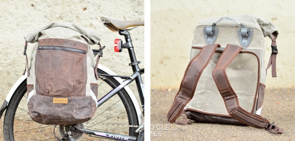 Anhaica Bag Works Backpack Pannier