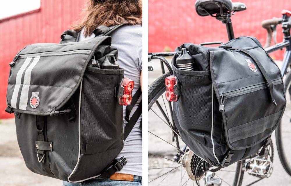 Banjo Brothers Convertible Pannier Backpack