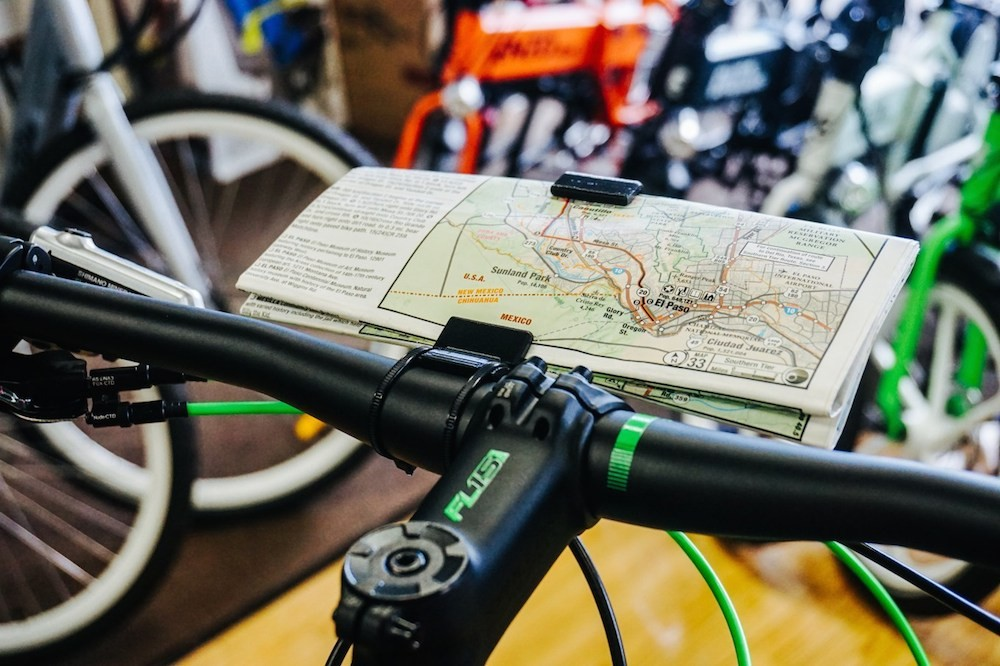Life Ultralight Bike Map Holder 03