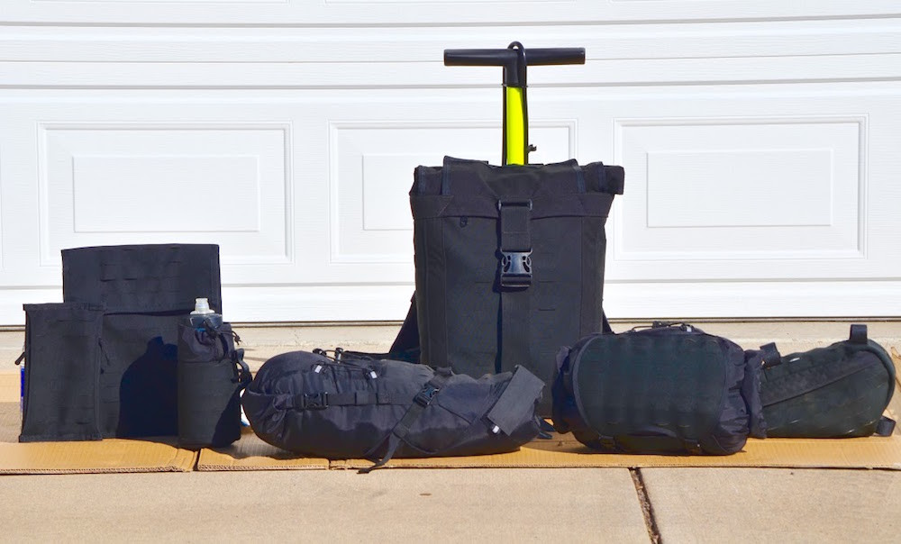 Vagabond Modular Bikepacking Bags Backpack 01