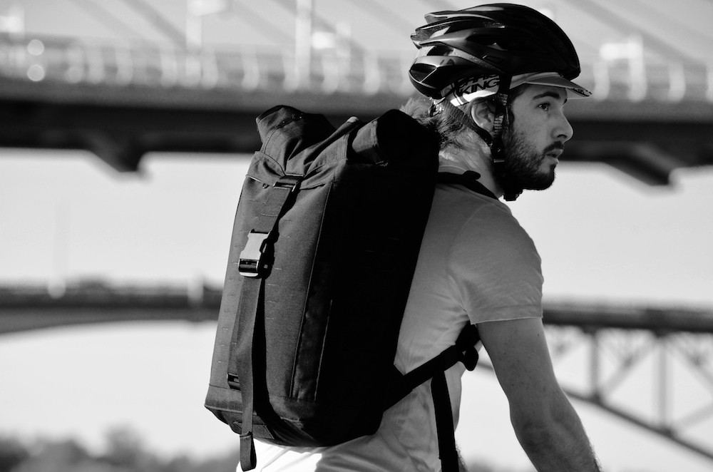 Vagabond Modular Bikepacking Bags Backpack 07
