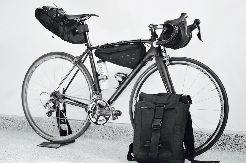Vagabond Modular Bikepacking Bags Backpack 08