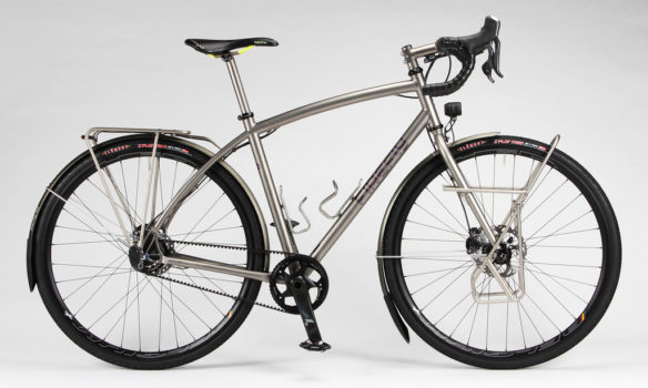 This Firefly Is The Cover Bike of the Bicycle Touring Buyer's Guide 2016